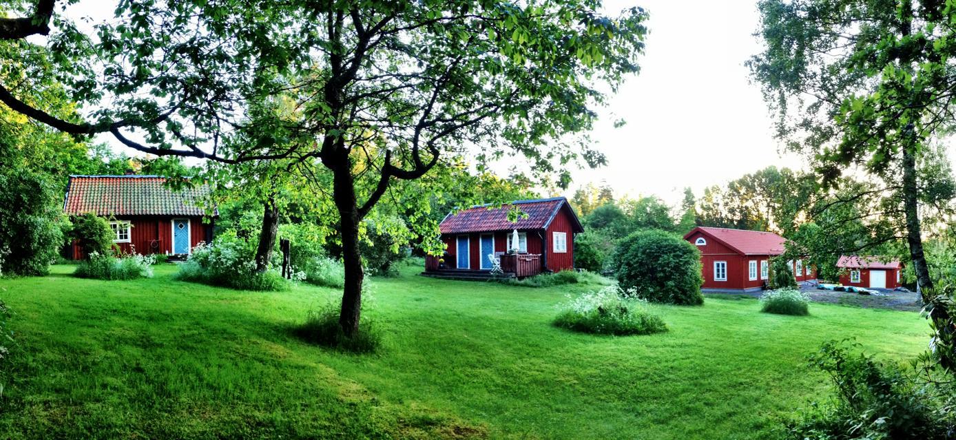 Nytorpet - Lanthuset : nytt hus i gammal stil : Inredning